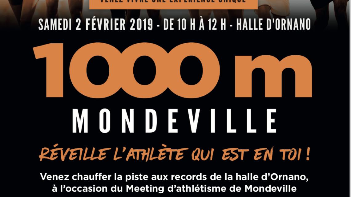 Participez au 1 000m du Meeting de Mondeville